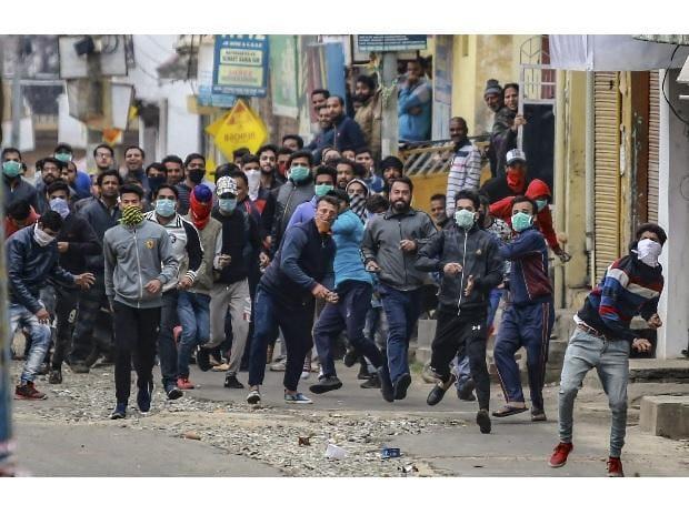 Kashmir Protestors