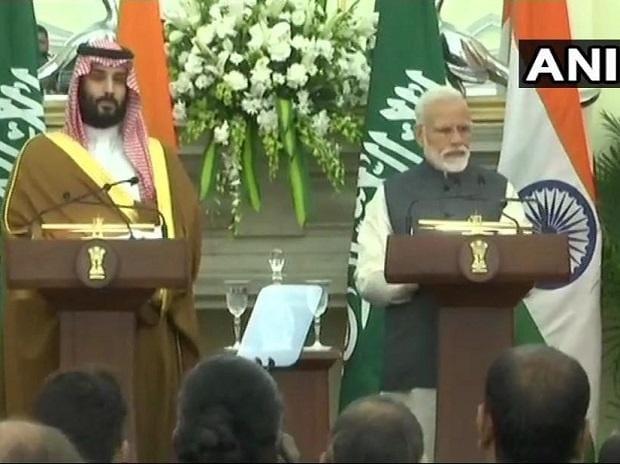 PM Modi and Saudi Crown Prince