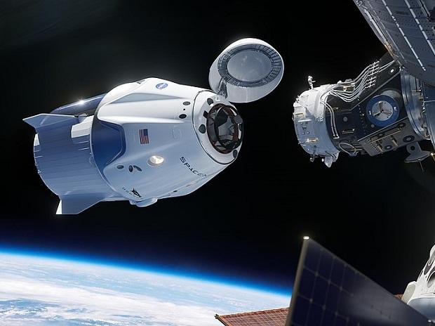 SpaceX launches first Dragon crew capsule into space