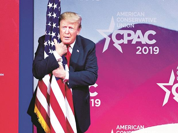 President Donald Trump at CPAC 2019, in Maryland, US, on Saturday | Photo: PTI