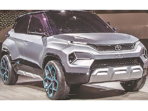 Tata Motors unveiled a concept version of the SUV H2X