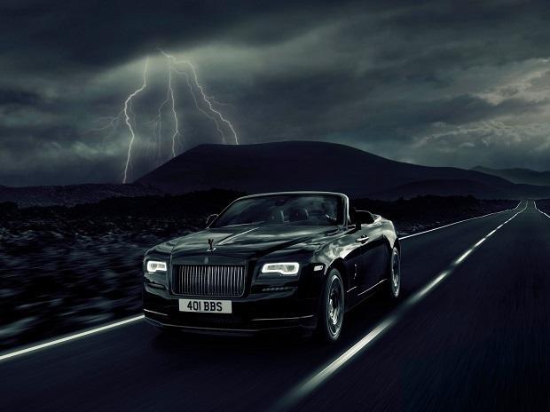 The Black Badge series of Rolls Royce