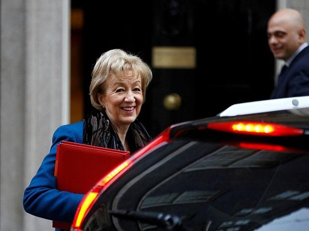 Andrea Leadsom, leader of the House of Commons, said she was