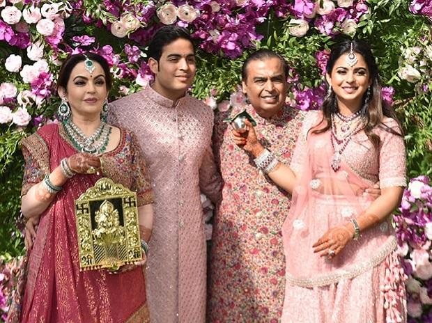 Ambani wedding pictures