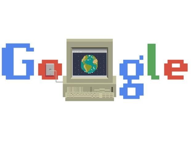 Google celebrated 30 years of World Wide Web with a doodle