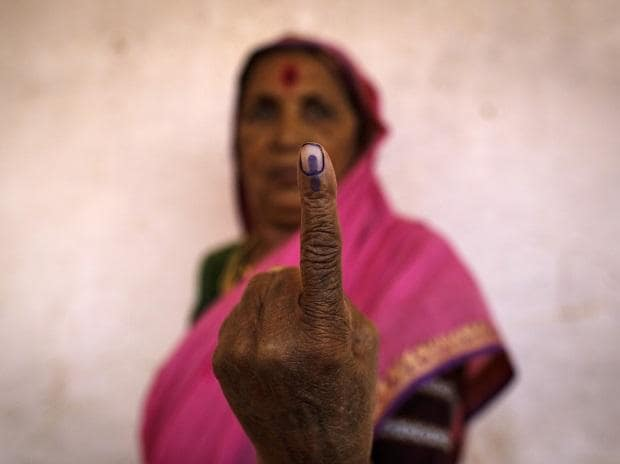 India elections, voting