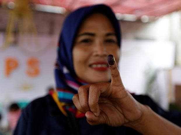 indonesia, voting, election