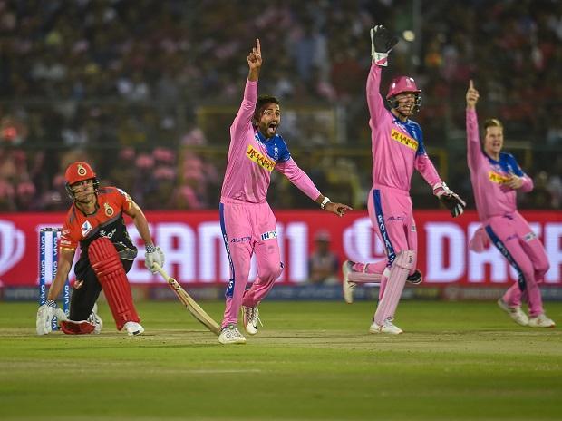 IPL 2019, RR vs RCB