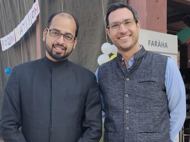 Medha founders Christopher Turillo (right) and Byomkesh Mishra