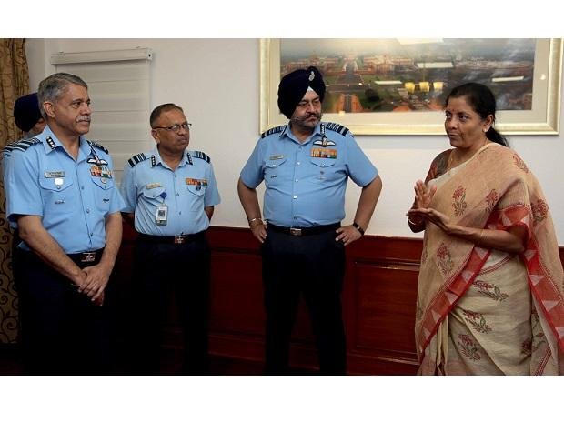 Sitharaman calls for building military aircraft in India