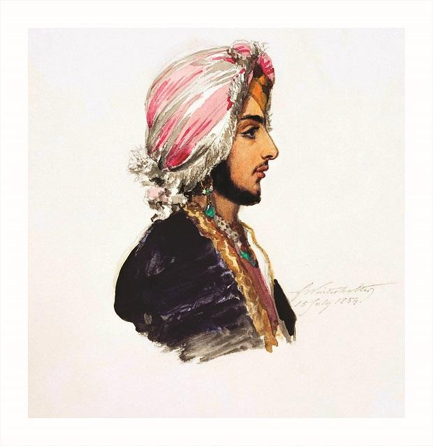 Portrait of Prince Duleep Singh by Franz Winter Halter