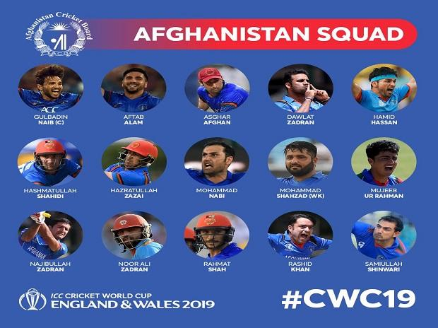 Afghanistan World Cup Squad