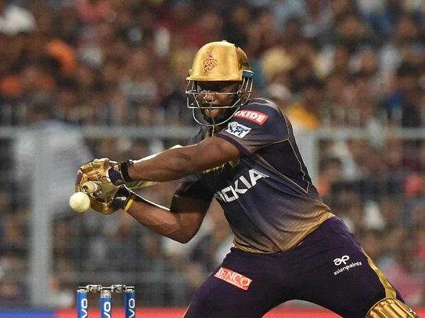 Andre Russell. Photo: PTI