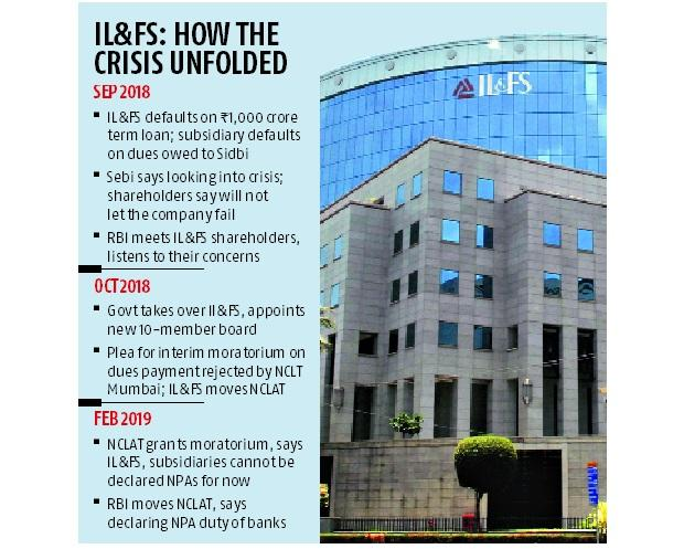 NCLAT allows banks to declare defaulting IL&FS, group companies as NPAs