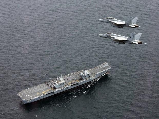 HMS Queen Elizabeth. Photo: Wikipedia