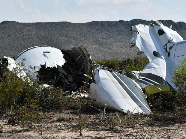 Wreckage is seen after following the crash of an airplane which took off from Las Vegas on Sunday, in Ocampo, Coahuila state, Mexico on May 6 | Photo: Reuters