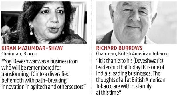 Y C Deveshwar obit: ITC's never-say-die diversification strategist