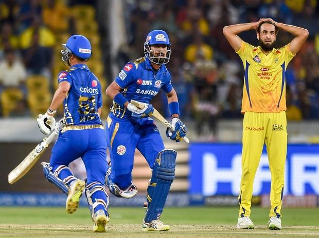 IPL 2019 final, MI vs CSK