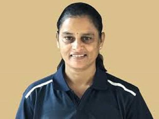 Former India women cricketer G S Lakshmi