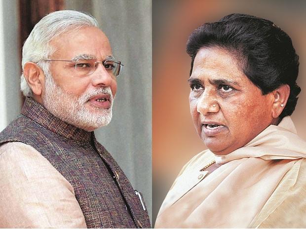 PM Narendra Modi; BSP supremo Mayawati