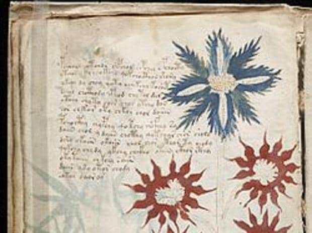 The manuscript which was decoded by the researchers