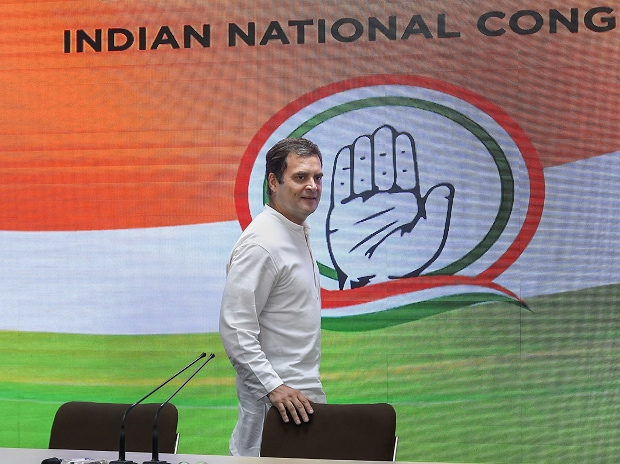 Rahul Gandhi addresses a press conference on 17 May, 2019