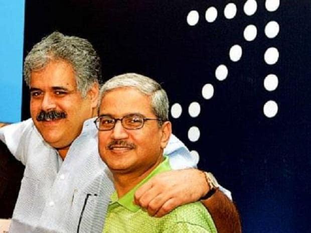 Rahul Bhatia (left) with Rakesh Gangwal