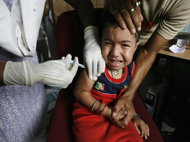 Measles, vaccine, vaccination