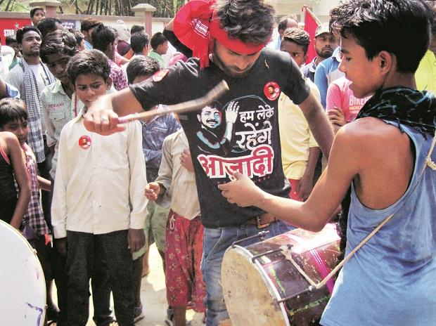Begusarai is often called the Leningrad of Bihar and the CPI's Kanhaiya Kumar is a popular candidate. But the BJP has made inroads into this parliamentary constituency and it was visible in Bahrampur villagePhoto: Somesh Jha