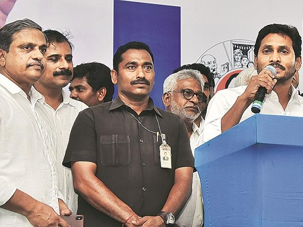 YSR Congress President Y S Jaganmohan Reddy (right) enjoys a cordial relationship with the PM