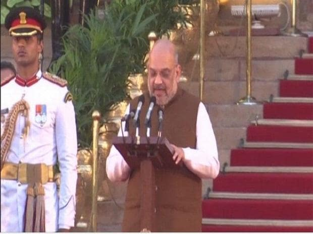 Amit Shah appointed as the new Home Minster of India. Photo: ANI