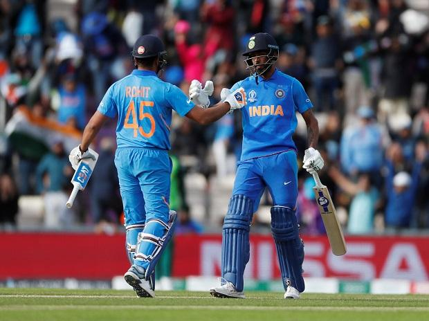 Icc Cwc 2019 Match 8 Highlights Rohit Ton Helps India