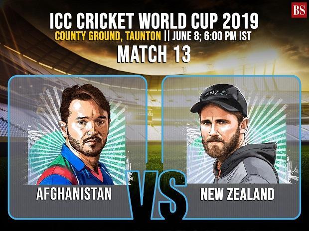 Afghanistan skipper Gulbadin Naib and New Zealand skipper Kane Willaimson