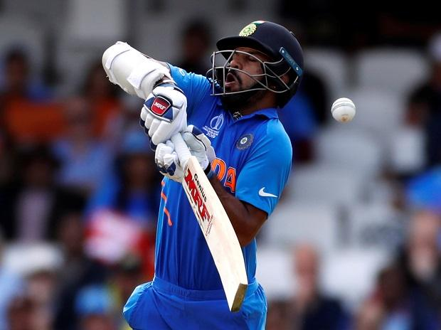Injured Shikhar Dhawan ruled out of World Cup 2019 for 3 weeks