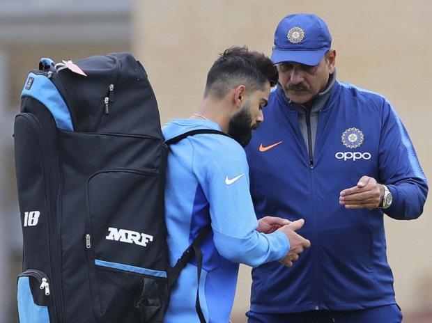 ICC CWC 2019, Ravi Shastri, Virat Kohli