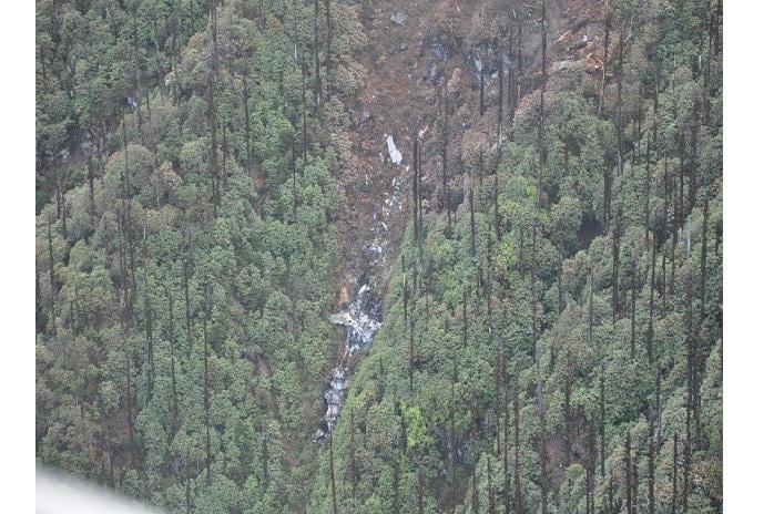 AN-32 wreckage