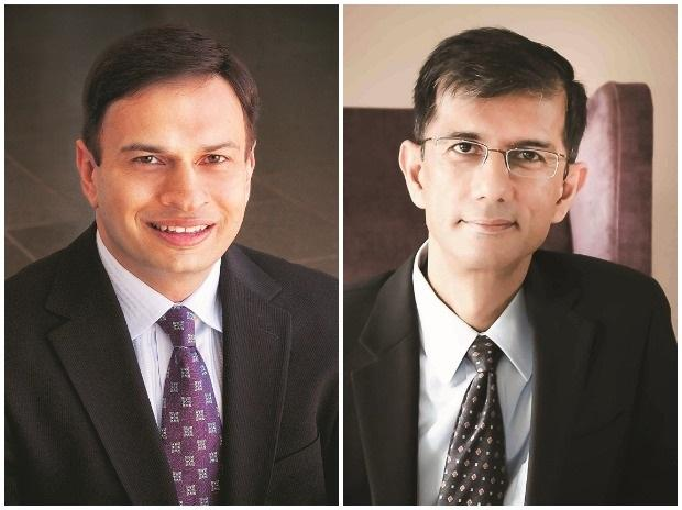 Left: Former Cognizant president Rajeev Mehta, if selected, may help L&T scale its IT play  and oversee integration