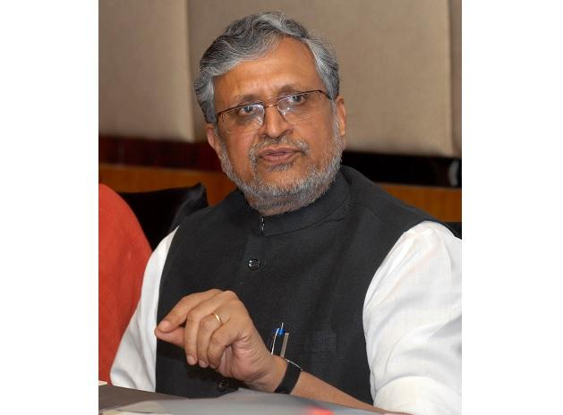 Bihar Deputy CM Sushil Modi heads the GoM to look into revenue shortfall after the GST roll-out
