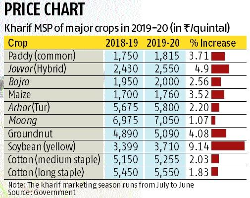 Stock in hand, govt marginally hikes MSP of paddy, pulses