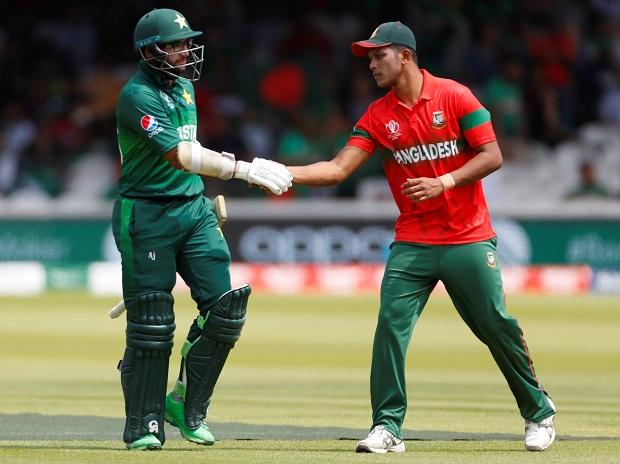 In Pictures Pakistan And Bangladesh Clash In Cricket World