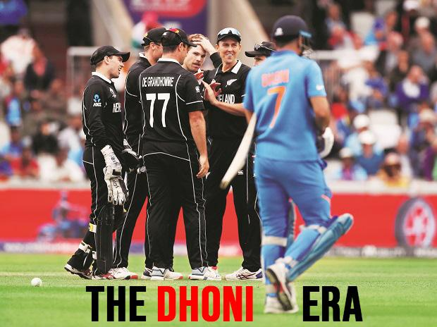 Dhoni, India vs New Zealand