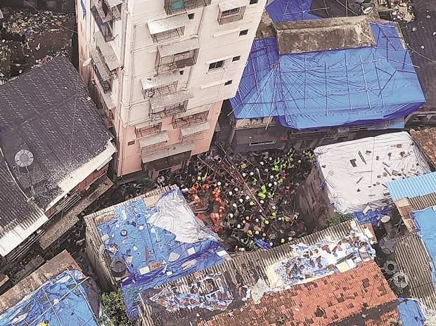 11 killed, over 40 feared trapped as building collapses in Mumbai locality