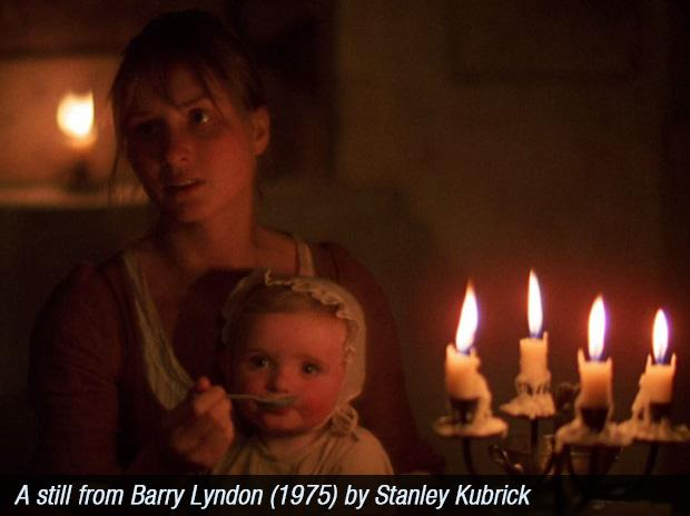 A still from Barry Lyndon by Stanley Kubrick