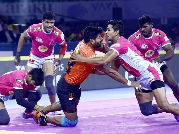 U Mumba vs Jaipur Pink Panthers