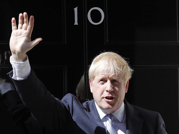 File photo of Boris Johnson. Photo: AP/PTI