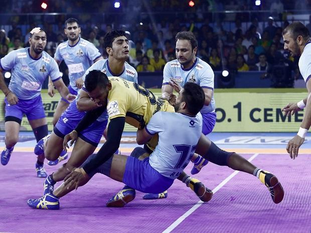 Tamil Thalaivas vs Telugu Titans, PKL 2019