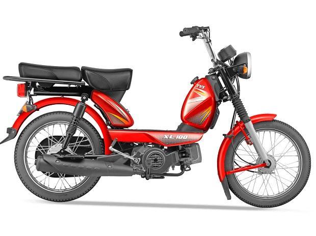 TVS moped