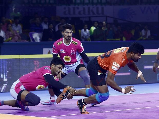 U Mumba vs Jaipur Pink Panthers, PKL 2019, Rohit Baliyan