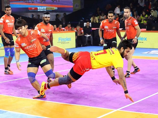 Pro Kabaddi 2019 Day 12 Highlights U Mumba End Gujarats