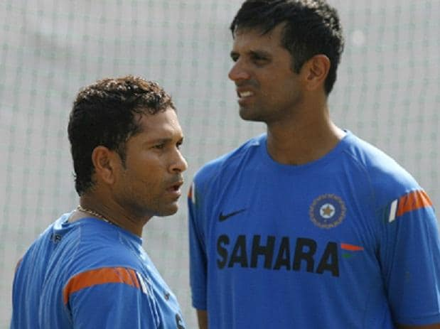 Controversy erupted when stand-in skipper Rahul Dravid declared an Indian inning with Sachin Tendulkar stranded on 194